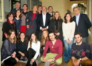 Primera Promoción del Programa Mentor- Alumnos, Mentores y Junta Directiva del Club junto a Mónica Vinarás del CEU
